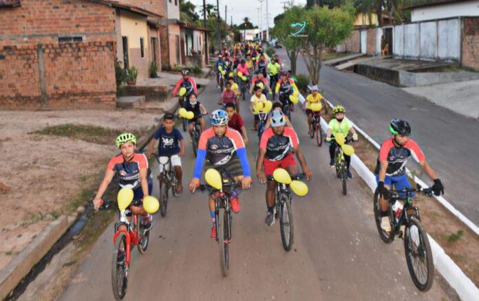 CAPS realiza pedal pela valorização da vida no setembro amarelo em Matinha
